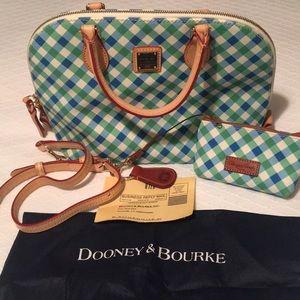 Dooney & Bourke ZIP Zip Satchel and Wallet